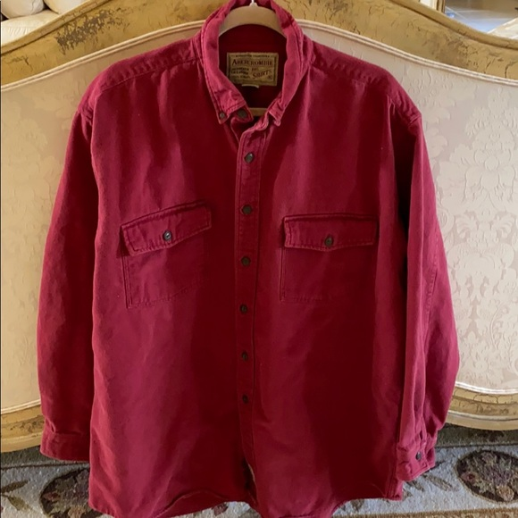 Abercrombie & Fitch Other - Abercrombie shirt/jacket